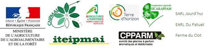 Logos partenaires techniques et financiers