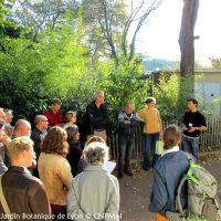 Assemblée Générale du CNPMAI au Jardin Botanique de Lyon