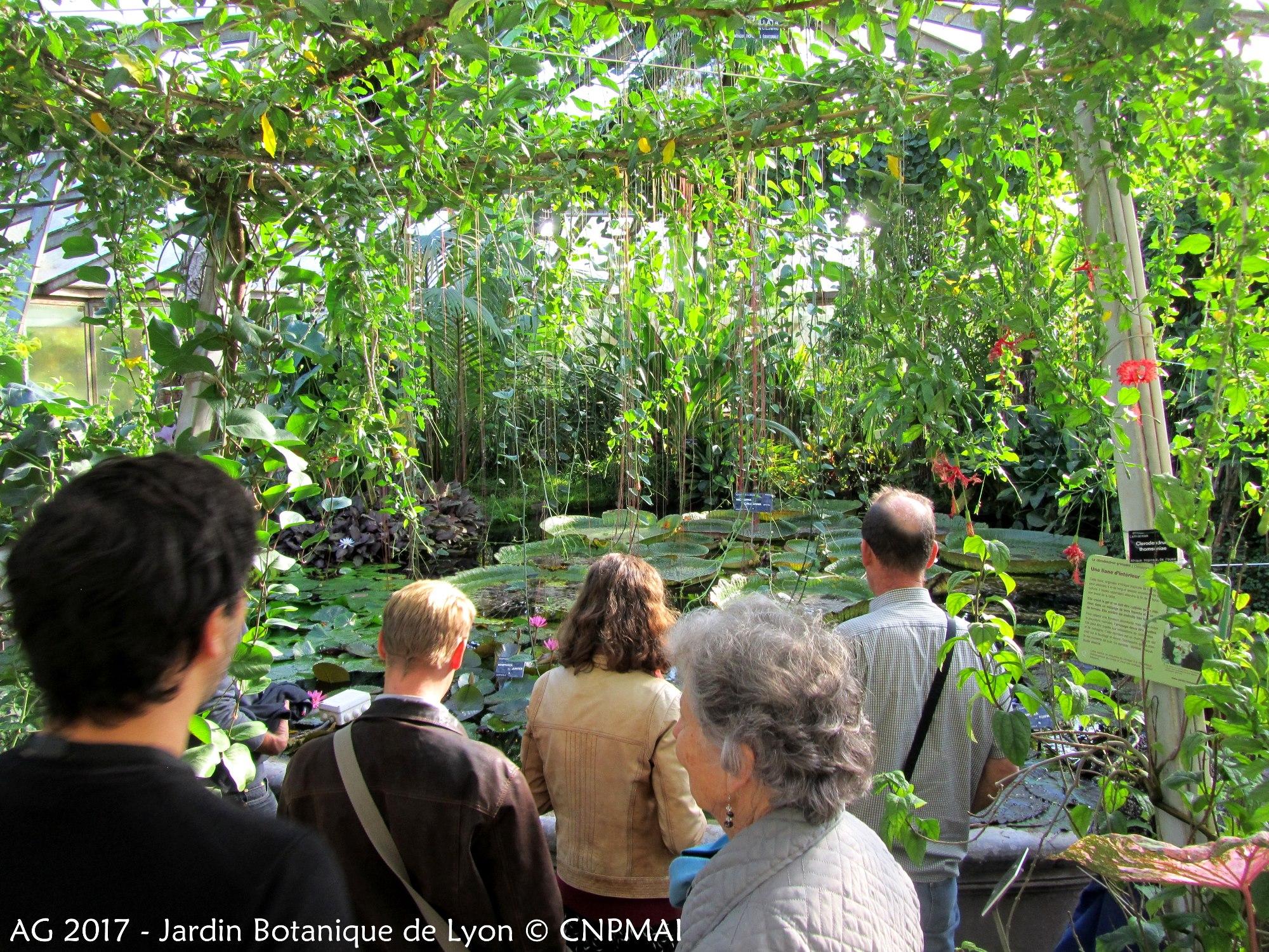 Assembl e g n rale du conservatoire au jardin botanique de lyon conservatoire national des plantes - Jardin zoologique de la ville de lyon ...