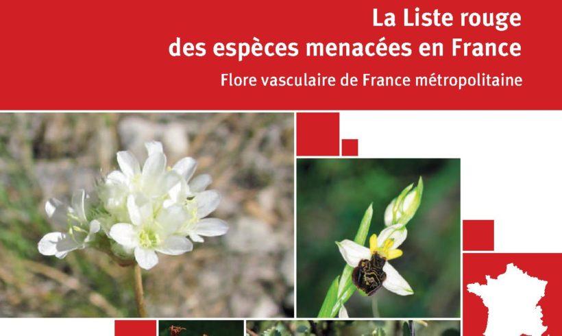 Parution de la liste rouge de la flore vasculaire de France métropolitaine