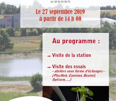 (Français) Portes ouvertes de la station iteipmai de Chemillé