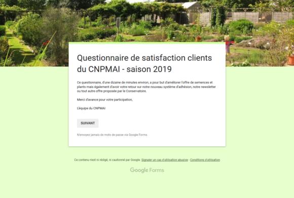(Français) Bilan de l'enquête clients