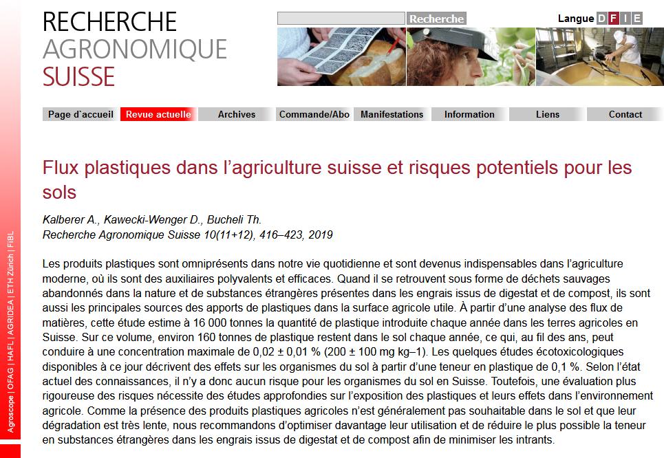 Screenshot_2019-12-02 Flux plastiques dans l'agriculture suisse et risques potentiels pour les sols