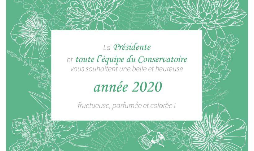 Vœux 2020 et rétrospective 2019