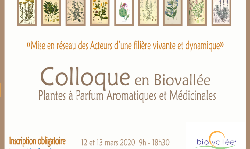 (Français) Colloque PPAM en Biovallée