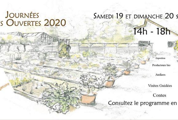 (Français) Journées Portes Ouvertes – 19 et 20 septembre 2020