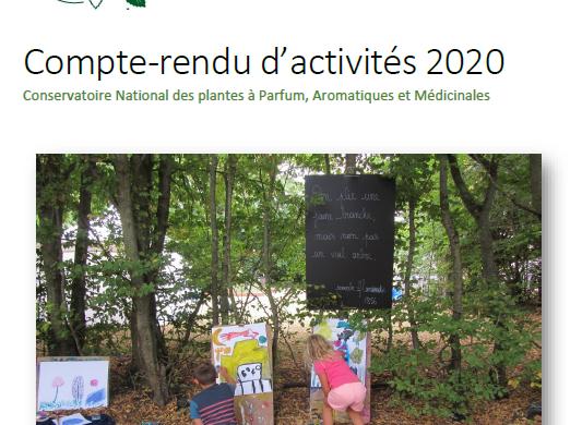 (Français) Le compte-rendu d'activités 2020 du Conservatoire vient de paraître !