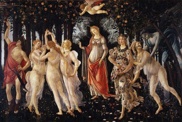 (Français) Le printemps – Sandro Botticelli