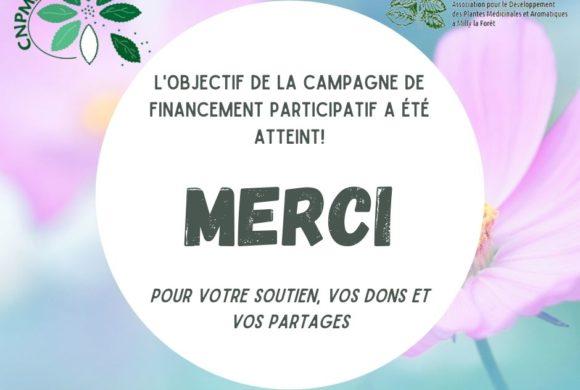(Français) Succès de la campagne de financement participatif