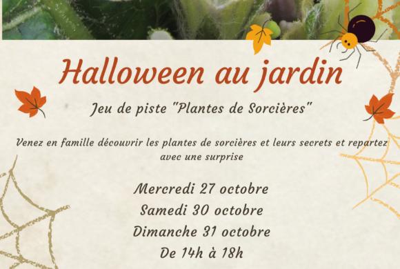 (Français) Halloween au jardin